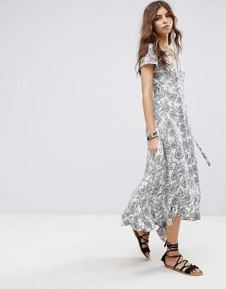 LIRA Floral Maxi Beach Dress