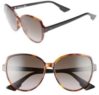 Christian Dior Onde 2 58mm Sunglasses