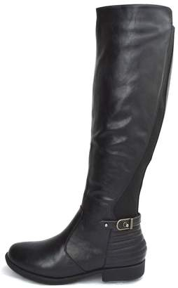 Bamboo Back Elastic-Riding Boots