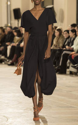 Jacquemus Souela Curved Hem Dress