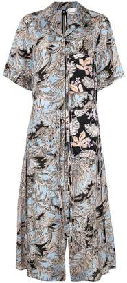 3.1 Phillip Lim floral print shirt dress