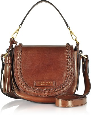 The Bridge Murakami Leather Medium Shoulder Bag