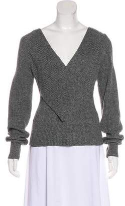 Tome Wool-Blend Cutout Sweater