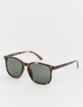 Quay the oxford square frame sunglasses