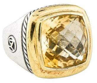 David Yurman Citrine Albion Ring