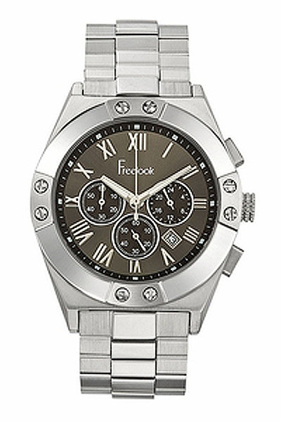 Freelook New Oversized Watch in Silver-PRE ORDER