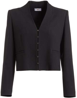 Igor WtR Black Wool Blend Cropped Suit Jacket