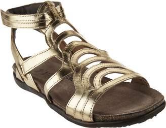 Naot Footwear Leather Gladiator Sandals - Sara