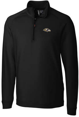 Cutter & Buck Men Baltimore Ravens Jackson Half-Zip Pullover