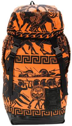Kokon To Zai big War Print backpack