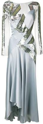 Temperley London Insignia sequin dress