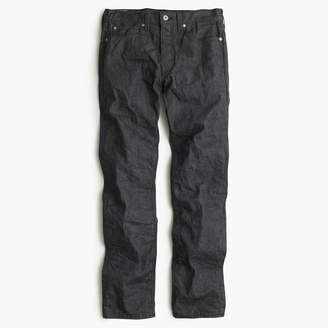 J.Crew Wallace & Barnes slim grey selvedge jean