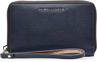 Marc Jacobs Two-Tone Leather Zip Phone Wristlet