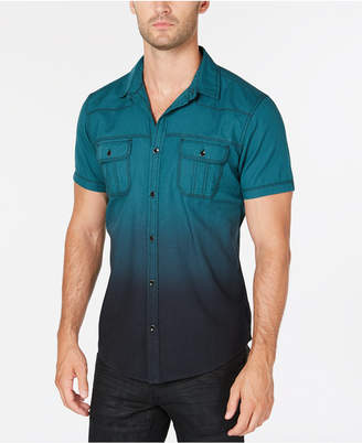 INC International Concepts I.n.c. Men's Dip Dyed Shirt, Created for Macy's