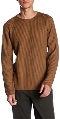Theory Long Sleeve Knit Merino Wool Sweater