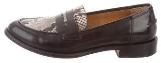 M.Gemi M. Gemi Embossed Leather Loafers