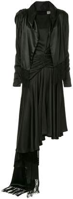 Preen by Thornton Bregazzi ruched asymmetric dress