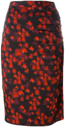 Givenchy abstract print skirt