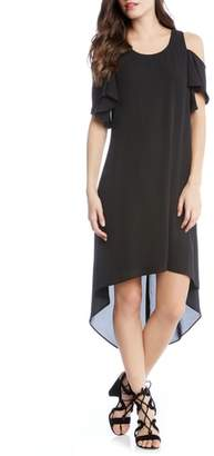 Karen Kane Cold Shoulder High/Low Dress