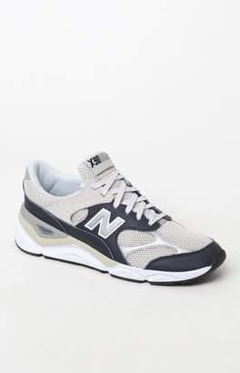 New Balance X-90 Re-Constructed Navy & Gray Shoes
