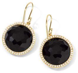 Ippolita Gold Rock Candy Lollipop Diamond Earrings
