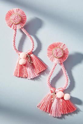 Mishky Pompa Drop Earrings