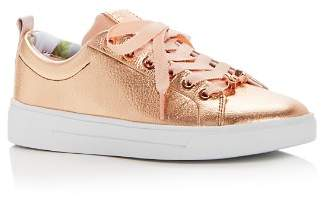 Ted Baker Women's Kellei Leather Lace Up Sneakers