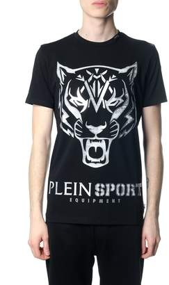 Philipp Plein Edberg Black And Silver T-shirt