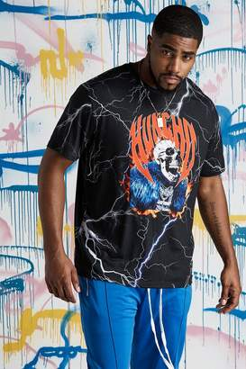 Big & Tall Quavo Skull Lightening T-Shirt