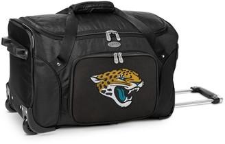 Denco Jacksonville Jaguars 22-Inch Wheeled Duffel Bag