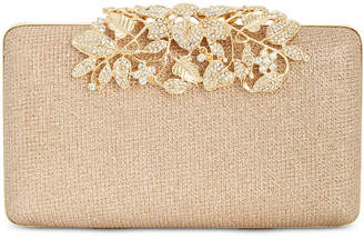 INC International Concepts I.N.C. Jennah Floral Closure Clutch, Created for Macy's