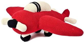 Anne Claire Hand-Crocheted Organic Cotton Airplane