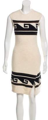 Isabel Marant Sleeveless Fair Isle Dress