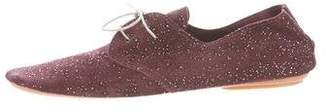 Anniel Glittered Suede Oxfords w/ Tags