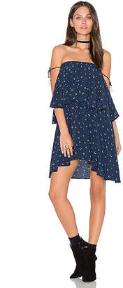 FAITHFULL THE BRAND Madrid Dress in Navy $135 thestylecure.com