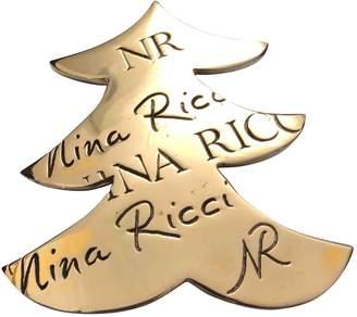 Nina Ricci Vintage Silver Metal Pins & brooches