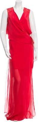 Reed Krakoff Silk Wrap Dress w/ Tags
