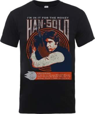 Star Wars Han Solo Retro Poster T-Shirt