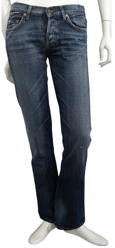 Citizens Of Humanity Selvage Bootcut In Bgr