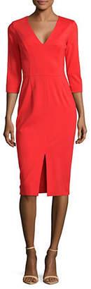 HUGO Kalayla V-Neck Dress