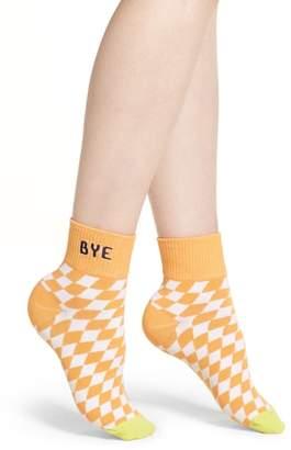Richer Poorer Drive Ankle Socks