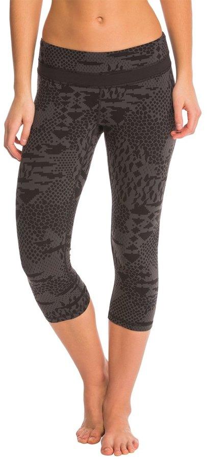 Lucy Women's Print Studio Hatha Capri Legging 8137445
