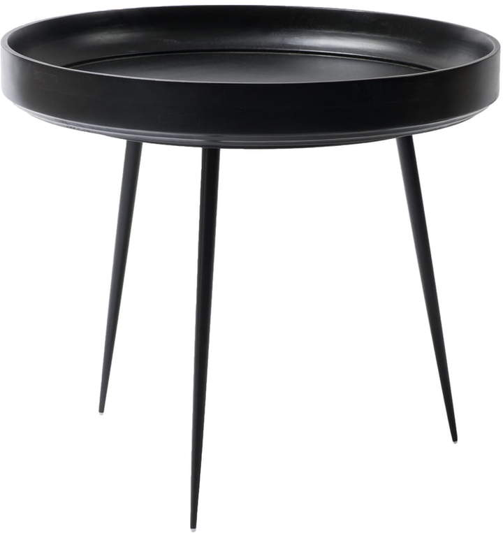 Mater - Bowl Table large, Ø 52 x H 46 cm, Schwarz