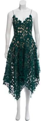 Oscar de la Renta 2019 Guipure Lace Dress w/ Tags green 2019 Guipure Lace Dress w/ Tags