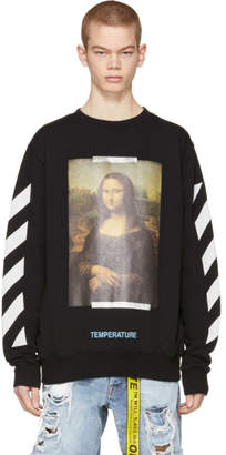 Off-White Black Monalisa Sweatshirt