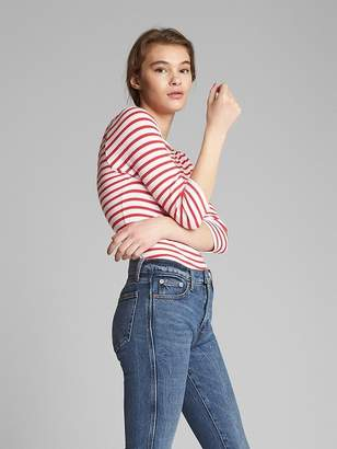 Gap Modern Elbow Length Sleeve Ballet-Back T-Shirt in Supima® Cotton