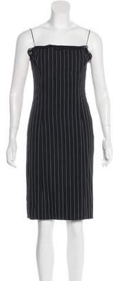 Ralph Lauren Black Label Wool Striped Dress