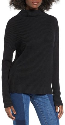 Women's Bp. Mock Neck Sweater $39 thestylecure.com