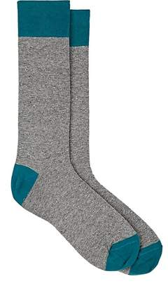 Barneys New York MEN'S FINE-GAUGE KNIT MID-CALF SOCKS