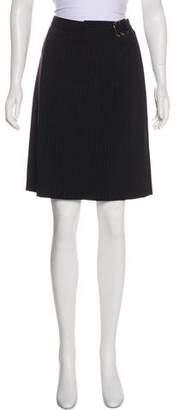 Emporio Armani Striped Knee-Length Skirt